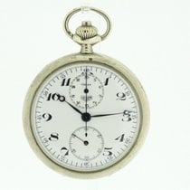 Heuer Pocket Watch Chronograph in good running Condition from...