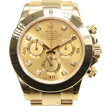 勞力士 (Rolex) Daytona 18 K Yellow Gold Gold Automatic 116528