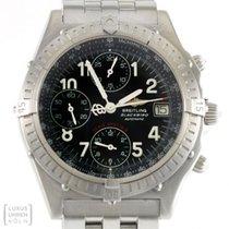 Breitling Uhr Blackbird Chronograph Edelstahl Serie Speciale...