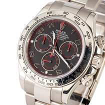 Rolex Oyster Perpetual Cosmograph Daytona White Gold black