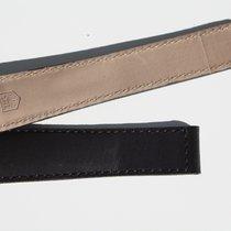 TAG Heuer Original 22mm Black Leather Monaco Strap