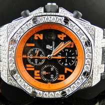 Audemars Piguet New Custom Mens  Royal Oak Offshore Volcano...