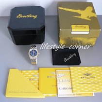 Breitling Wings Lady mit Goldlünette & Pilotband - Box...