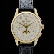 Nicolet Watch Vollkalender Chronograph - Ref.: 102 - 18 Karat...