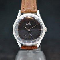 Omega Handaufzug Black Dial cal.266 anno 1954