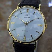 Enicar Swiss Made Rare Vinatge 1960s Manual Men's Gold...