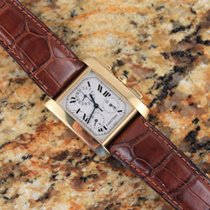 Cartier Tank Française Chronoflex Chronograph