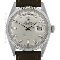 Rolex vintage 18k white gold 1970's Day-Date