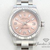 Rolex Oyster Perpetual 176234 Edelstahl Weissgold 750 Automatik