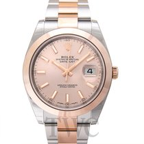 롤렉스 (Rolex) Datejust 41 Sundust/Rose gold 41mm - 126301