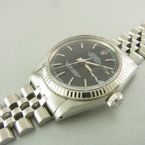 Rolex Datejust Medium 31 Mm Ref 6827 Edelstahl Weißgold...