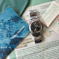 Rolex Explorer II Steve mc queen . Mk 2  dial . With rare frog...