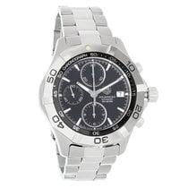 TAG Heuer Aquaracer Mens Black Dial Chronograph Watch CAF2110....