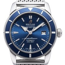 Breitling A1732116/C832/154 Superocean 42mm Blue Men's Watch
