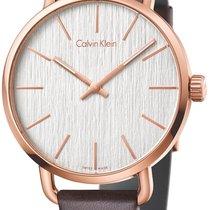 ck Calvin Klein even Uhr K7B216G6
