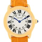 Cartier Ronde Solo Steel 18k Yellow Gold Small Ladies Watch...