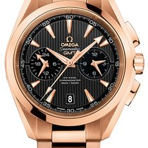 Omega Aqua Terra 150m Co-Axial GMT Chronograph 43mm 231.50.43....