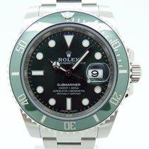 "Rolex Submariner Date 116610 LV ""Hulk"" New"