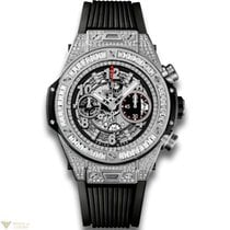 Hublot Big Bang 45 mm Unico 18K White Gold 176 Diamonds with...