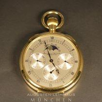 IWC Taschenuhr limitierte Auflage 750 Gold mit Mondphase