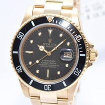 Rolex Submariner Nipple Dial 18Kt Gold Ref.16808 von 1982