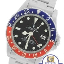 Rolex GMT-Master 1675 Mark IV 4 Pepsi Blue Red Stainless 40mm