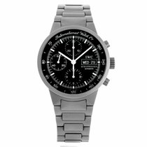 IWC GST Automatic Titanium Chronograph Watch 3707 (Pre-Owned)