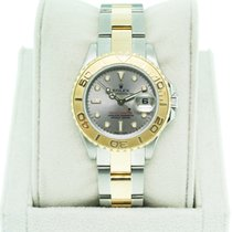 Rolex Yachtmaster Two Tone Ladies 169623 Oyster Dial
