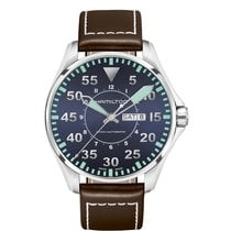 Hamilton Men's H64715545 Khaki Aviation Pilot Auto