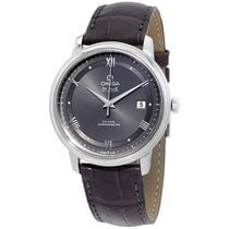 Omega DeVille Prestige Grey Dial Automatic Mens Watch 424.13.4...