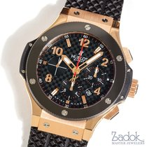 Hublot Big Bang 18k Rose Gold Black Ceramic 301.PB.131.RX...