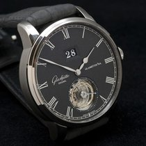 Glashütte Original Senator Tourbillon  Skeleton Grey Strap...