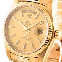 Rolex Oyster Perpetual Day-Date Gold an Präsidentband Fullset...
