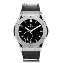 Hublot Classic Fusion Classico Ultra-Thin Titanium Mens Watch...