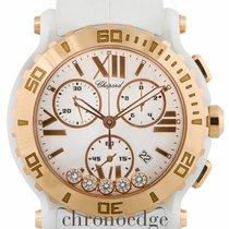 Chopard Happy Sport Chronograph Ceramic & Rose Gold...