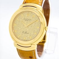 "Rolex ""Cellini"" Watch - 18k Yellow Gold / SUPER CLEAN"
