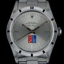 Rolex S/S Domino's Pizza O/Perpetual Air-King B&P 14000