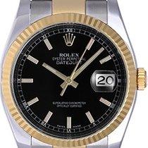 Rolex Datejust Steel & Gold 2-Tone Men's Watch 116233