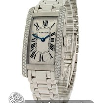 Cartier Ladies Tank Americaine 18ct Small Model
