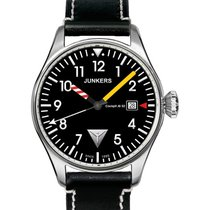 Junkers Cockpit 6144-3 Quartz Watch With Swiss Ronda Movement...