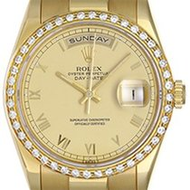 Rolex President Day-Date Men's Watch 118238 Champagne Dial