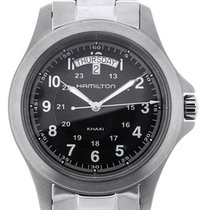 Hamilton Khaki King 40 Day Date Black Dial