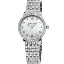Frederique Constant Ladies FC-200WHDSD6B Slimline Diamond