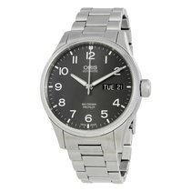 Oris Big Crown ProPilot Day Date Grey Dial Men's Watch