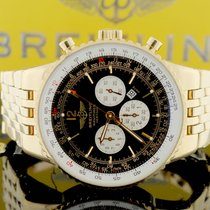 Breitling Navitimer World Heritage Yellow Gold Chronograph...
