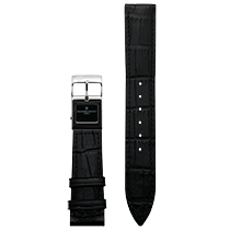 Frederique Constant E-Strap Black Stainless Steel 20mm