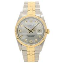 Rolex Datejust 16233 - Gents Watch - Diamond Dial - 2002