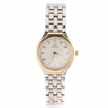 Omega DeVille Ladies Steel and Gold Watch 42602300 (Pre-Owned)