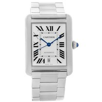 Cartier Tank Solo Xl Automatic Stainless Bracelet Watch W5200028