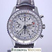 Breitling Navitimer World White dial A2432212